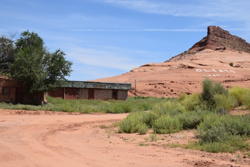 Oljato, Utah, a Navajo community involved in the Sinajini Case (1974), photo by Farina King