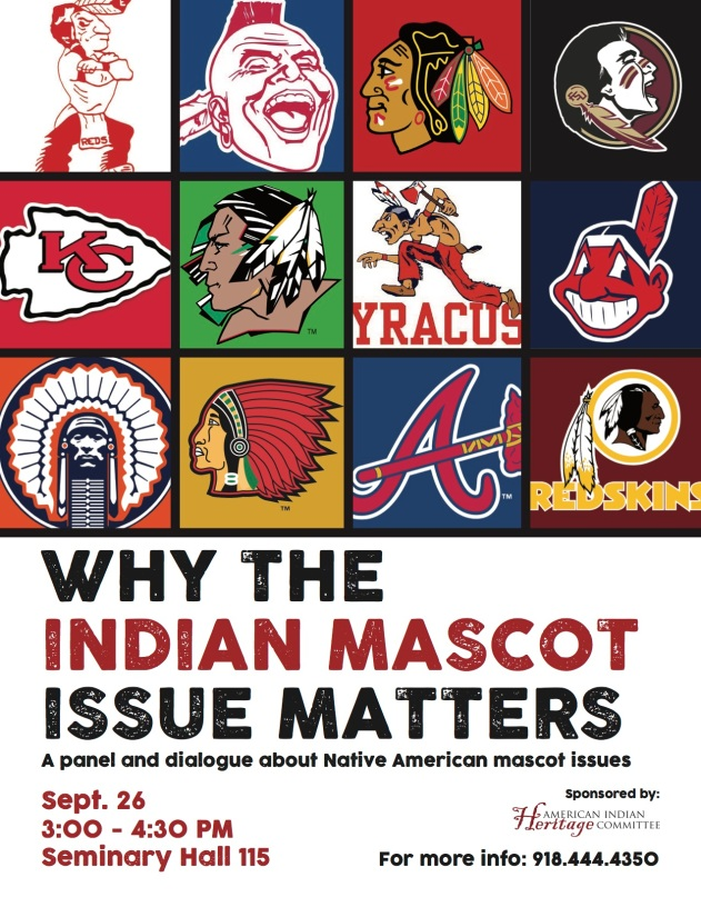 Mascot Issue Panel Flyer Sept 26 NSU