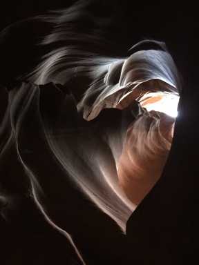 Antelope Canyon Heart ©2016 Farina King All Rights Reserved