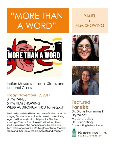 More Than A Word Panel Film Flyer