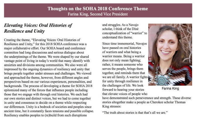 King SOHA 2018 Theme