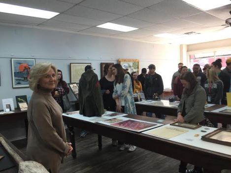 Students receive tour of the Eufaula Area Museum