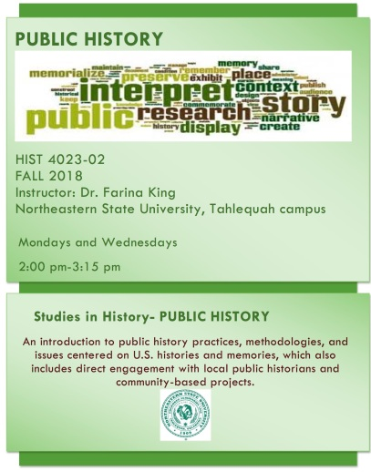 Public History Flyer