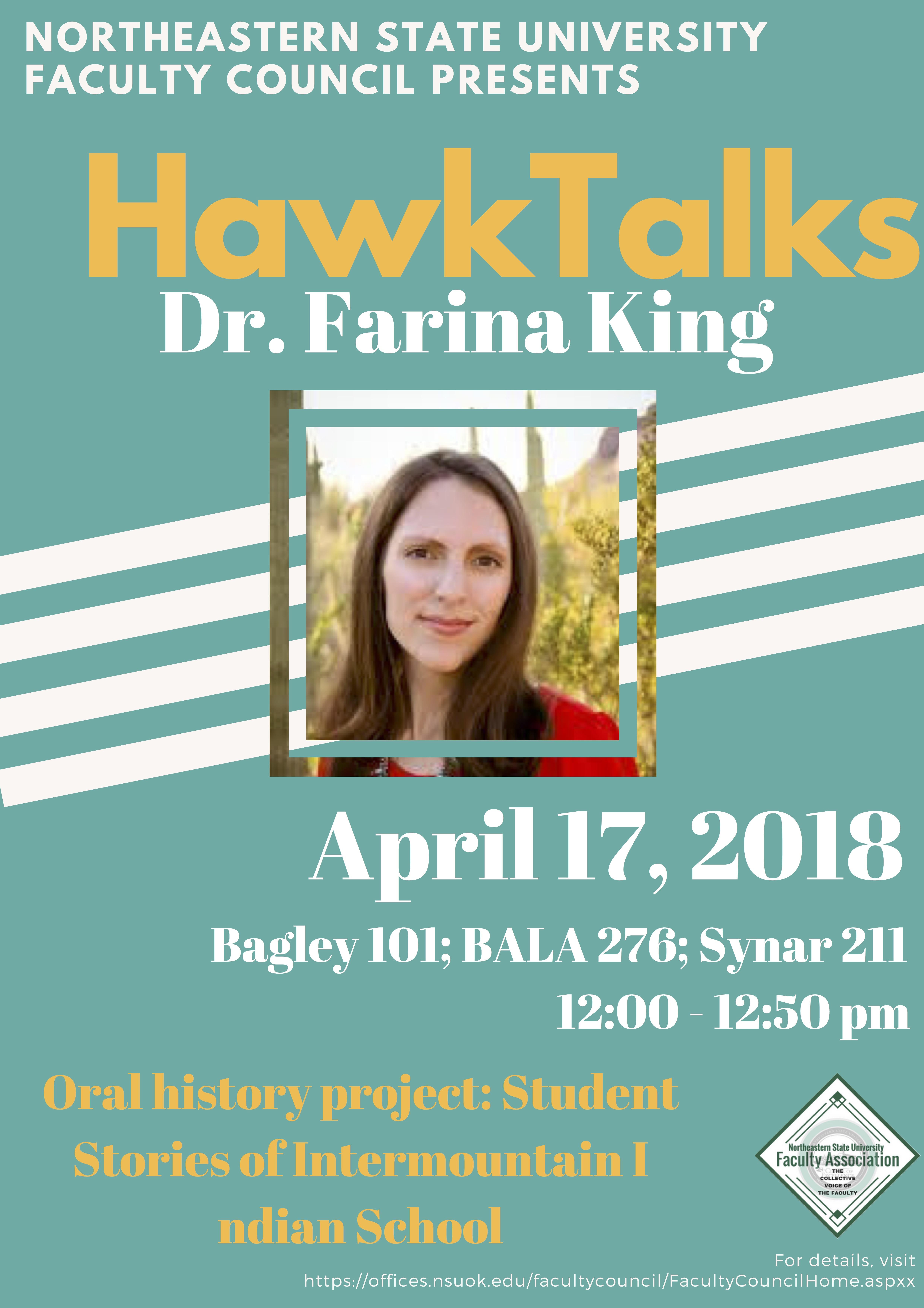 HawkTalks - Farina
