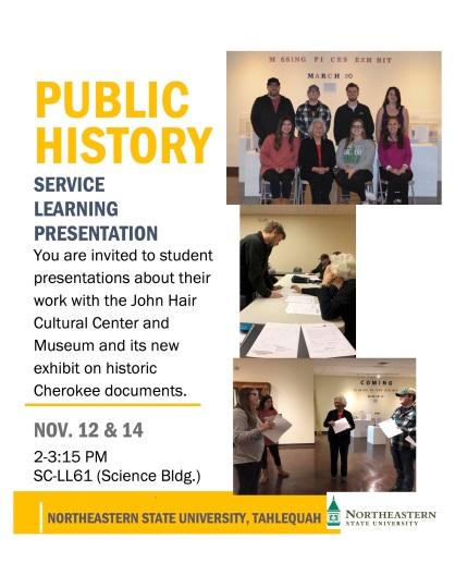 Public History Presentations