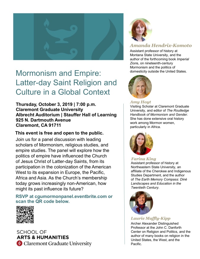 Mormonism and Empire Panel